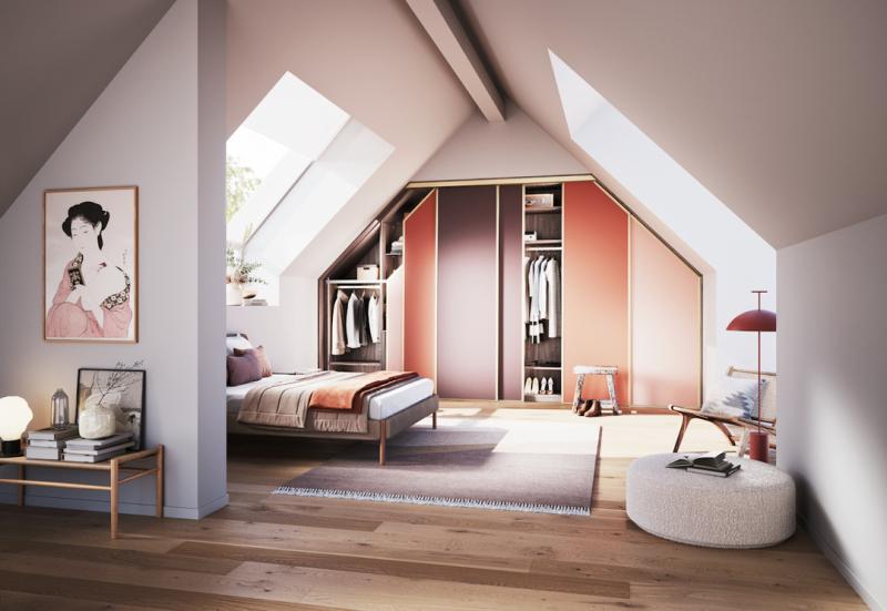 der schrank nach mass home. Black Bedroom Furniture Sets. Home Design Ideas